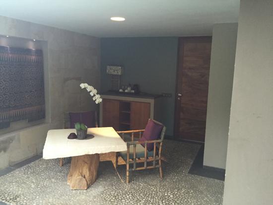 The Purist Villas and Spa: 休息區