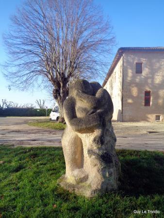 Blaye, Γαλλία: Sculpture dans la citadelle