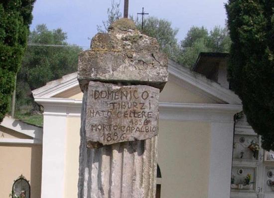 Tomba del Brigante Domenico Tiburzi