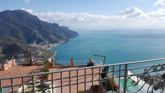 Hotel Villa Fraulo: panorama dalla camera