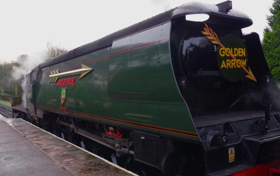 Image result for the golden arrow train