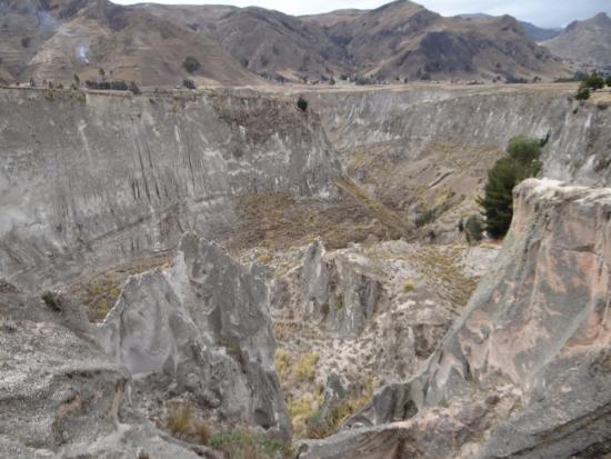 Pujili, الإكوادور: A beleza do Canon del Rio Toachi