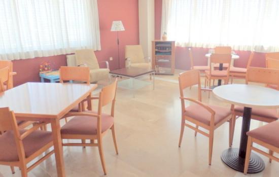 Venta de Baños, España: Salón social