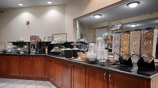 Best Western Lawrence : Breakfast