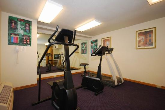 Cloverdale, كاليفورنيا: Fitness Room