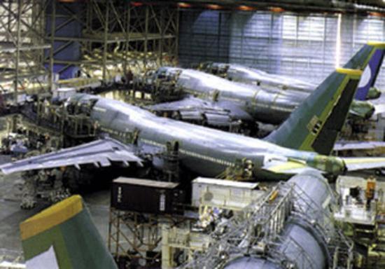 Everett, WA: Boeing 747 Tour Center