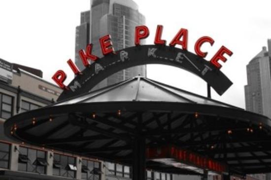 เชฮาลิส, วอชิงตัน: Pike Place Market