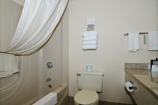 BEST WESTERN Westgate Inn: Guest Bathroom