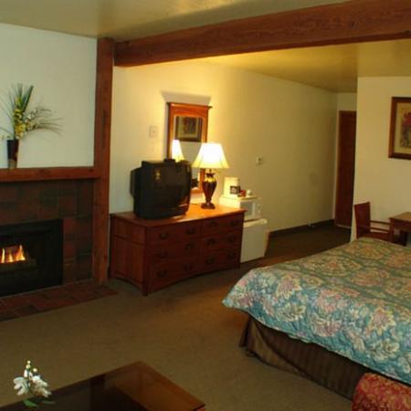 Three Rivers, CA: Fireplace King Room