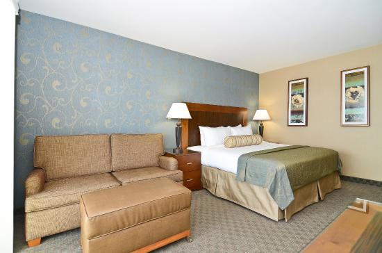 BEST WESTERN PLUS Shore Cliff Lodge: Queen guest room with extra seating