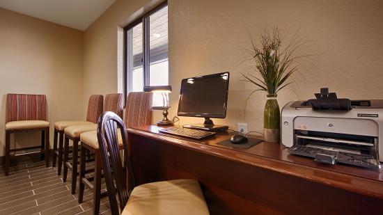 Best Western Green Tree Inn: Business Center