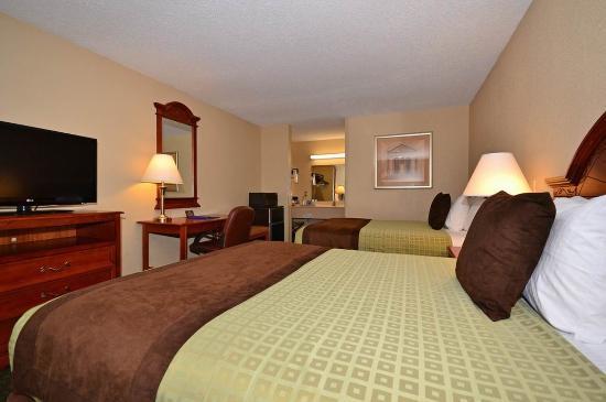 BEST WESTERN Vicksburg: Double Queen Guest Room