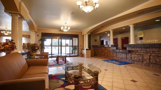 Quanah, Teksas: Hotel Lobby
