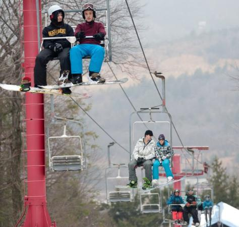 Palmerton, Pennsylvanie : Vista Chair Lift