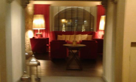 Hotel Degli Orafi: un angolo della Hall