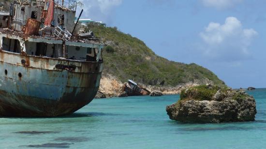 Ship Wrecks at Mariners, Anguilla - Picture of Anguilla ...
