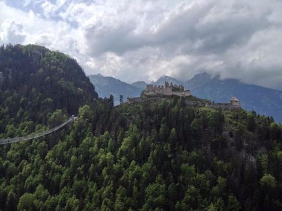 Wangle, Avusturya: Ausblick von der Highline179