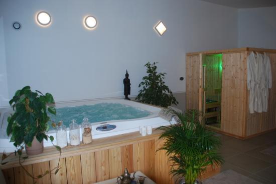 Allex, France: Le Spa du Mokuso le soir
