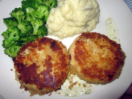 Bristol, Pensilvania: The Wednesday Special - Crab Cakes
