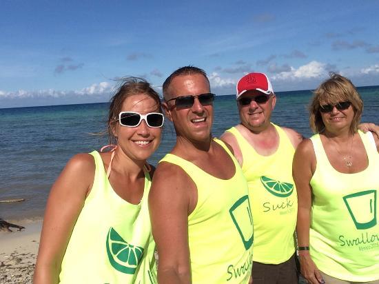 Panama Jack Resorts Playa del Carmen: Friends on Cozumel