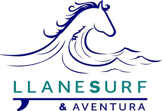 Poo de Llanes, İspanya: Logo Llanes Surf & Aventura