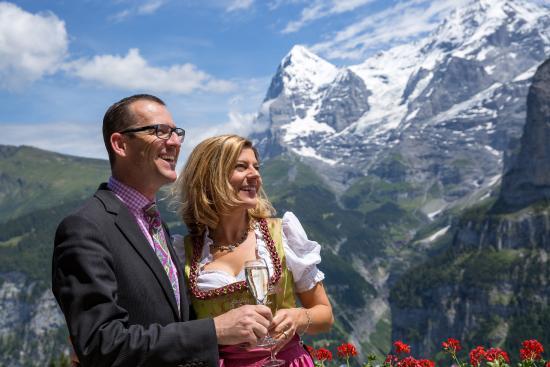 Hotel Eiger: Susanna & Adrian Staehli, your host