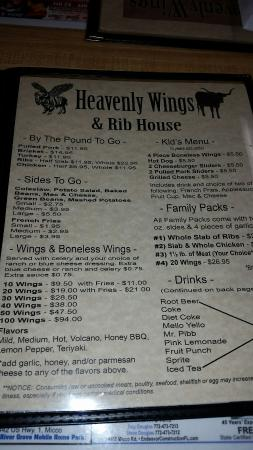 Heavenly Wings and Rib House