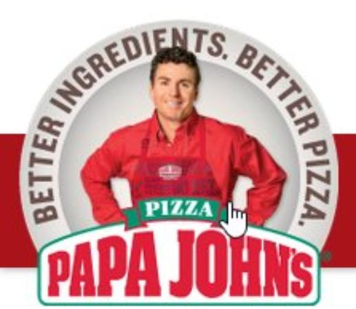 Acworth, Gürcistan: Papa John's Pizza