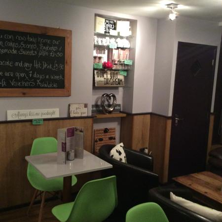 Bliss Cafe: Range of gifts and homemade produce available