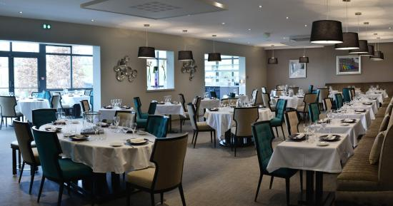 Dizy, Frankrijk: La salle du restaurant