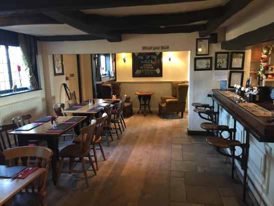 The Strawbury Duck: part of the bar area