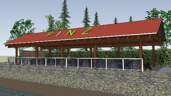 Finz Resort: New 2016 Covered Post & Beam Patio cover