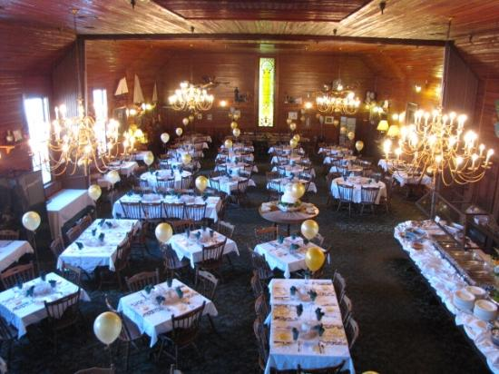 The Gift Horse Main Dining Room Ready For An Anniversary Party We Also Serve
