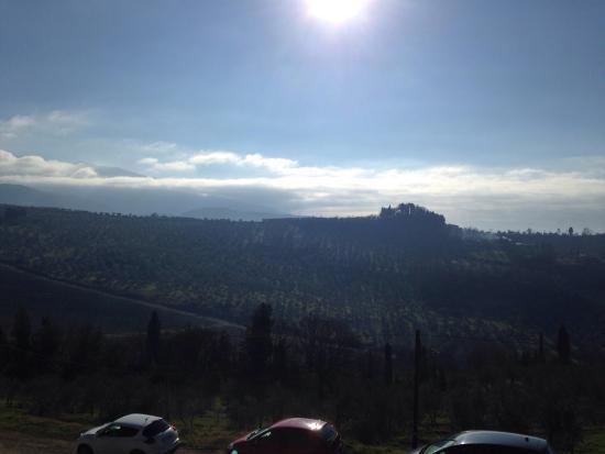 Pelago, Italia: Castello di nipozzano un maniero ricco di storia da non perdere assolutamente per chi transita i