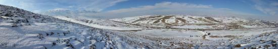 nature of khoy in winter(ghurdic valley)