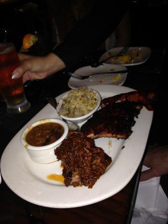 South Pasadena, CA: ribs and sausage