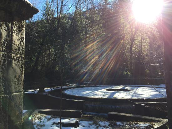 The Secret Garden At Belknap Hot Springs Picture Of Belknap Hot Springs Lodge And Gardens