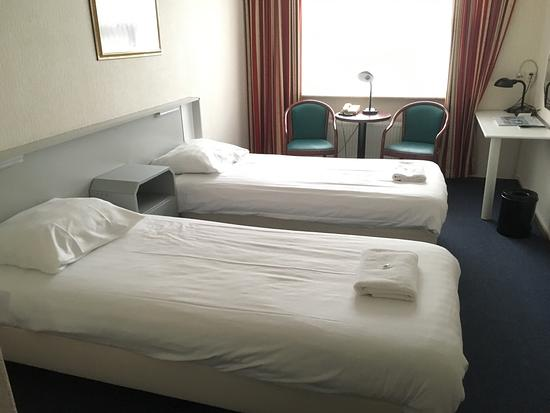 De Lutte, Países Bajos: De eenpersoonskamers hadden beide gewoon twee bedden!