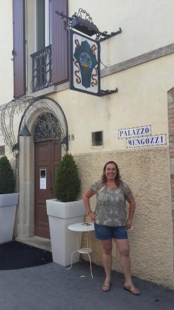 Montegiardino, San Marino: Entrada al hotel