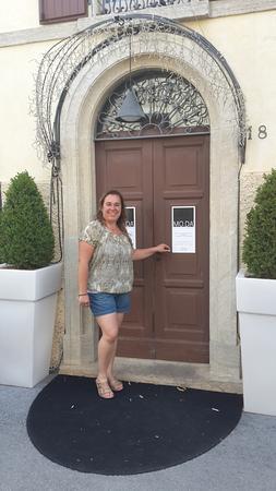 Montegiardino, San Marino: Puerta de entrada