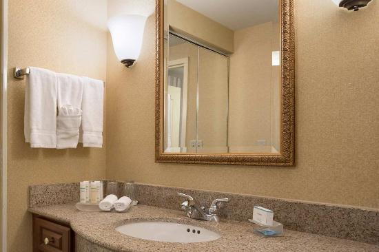 Homewood Suites Detroit Troy: Guest Bathroom