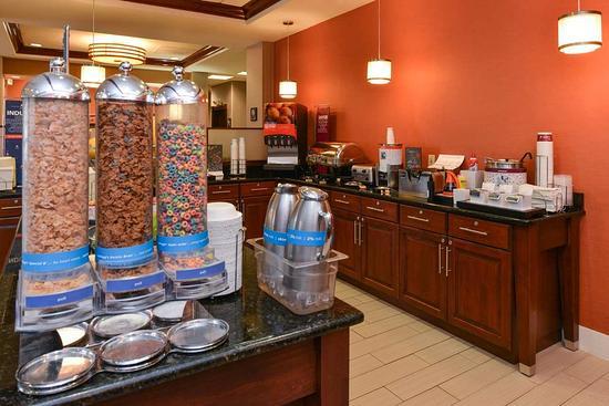 College Park, MD: Breakfast Cereal Station