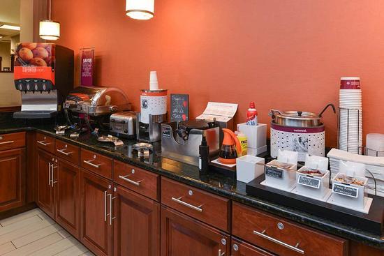 College Park, MD: Breakfast Station