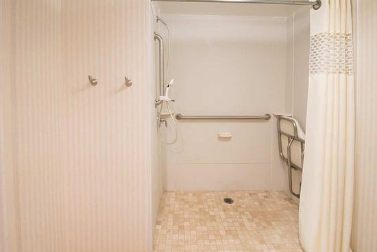 Bridgeport, Virginia Occidental: Accessible Roll-in Shower