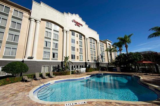 Hampton Inn Orlando/Lake Buena Vista: Outdoor Pool