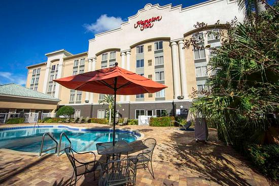 Hampton Inn Orlando/Lake Buena Vista: Outdoor Pool Area