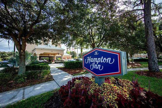 Hampton Inn Orlando/Lake Buena Vista: Hotel Exterior Sign