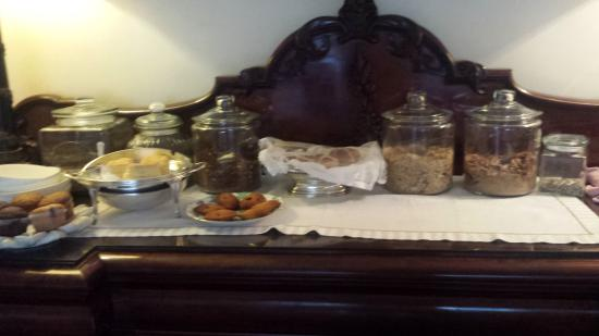 The Neuk Guest House: Breakfast options