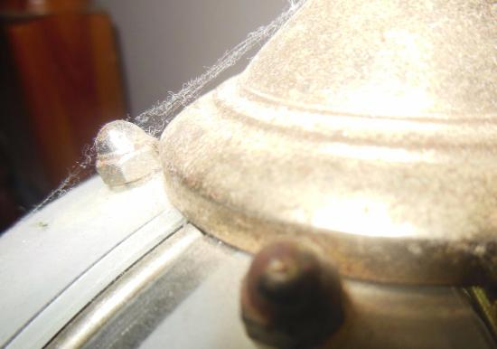 Cape Jervis, ออสเตรเลีย: Thick cobwebs , dust and dead insects on all light fittings