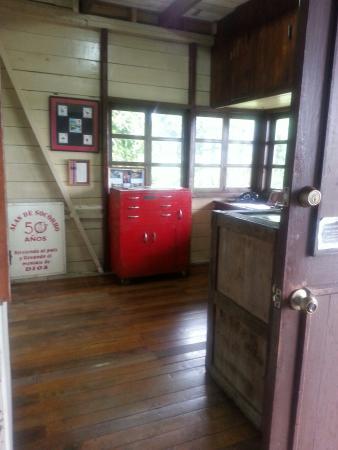 Shell, Ecuador: Nate Saint House y Museum (cerca de Escuela for children of missionaries)